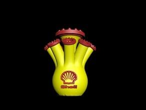 royal dutch shell vase