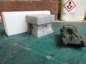 Sea wall Bunkers
