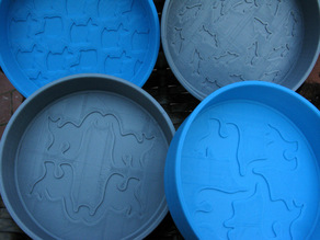 Decorated Water Bowls