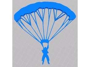 Parachute 2D Wall Art