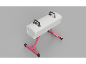 Barbie Pommel Horse