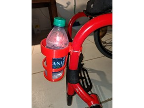 Wheelchair Cupholder - Works with Bottles