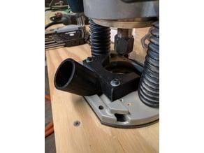 Dust Port Attachment for Bosch 1617 Plunge Base Router