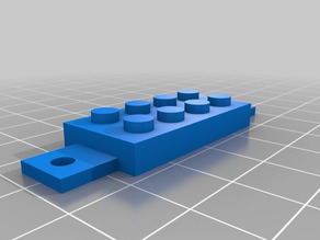 'Gimbal' Pi Camera-LEGO-MakerBeam rail mount