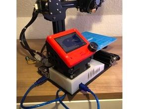 Creality Ender 2 - MKS Gen 1.4 + Raspberry Pi case