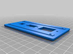Ultimaker 2 Aluminum Extrusion 3D printer - Rear I/O Panel with USB ATX power socket and switch