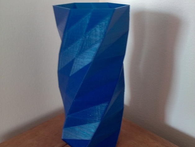 Twisted 6 sided vase basic by revaice for 15 metrotech center 7th floor brooklyn ny 11201