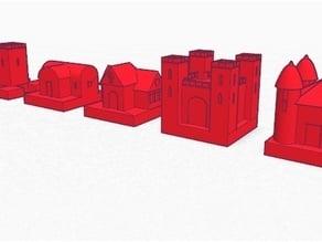 Castle Building #Chess Set