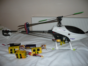 Raptor 50 Titan RC heli electric conversion