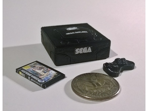 Mini SEGA Saturn