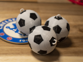 Multi-Color Soccer Ball Keychains