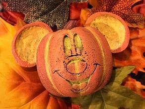 Mickey Jack-o-lantern