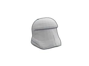LEGO Compatible - Storm Trooper Minifig Helmet