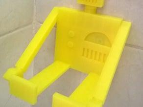 Robot Soap Bottle Shelf