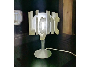 "Table lamp ""light"""