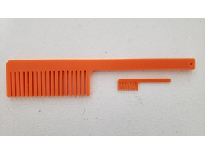 Hair Comb and Matching Beard Comb