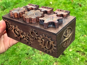 Steampunk Puzzle Box