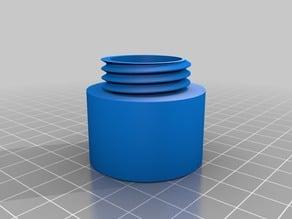 Mini boite ronde, avec filet