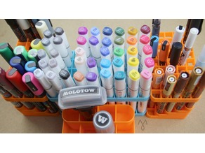Marker Stand, various sizes (Fits Posca, Molotow, Promarker, Copic, Sta...)