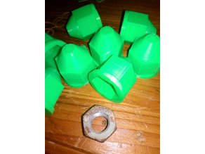 19 mm wheel nut cover