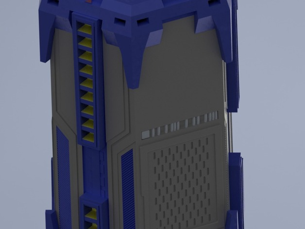 Intel Space Capsule By Macnite Thingiverse
