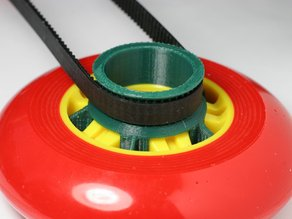 GT2 Pulley for Skate Wheel