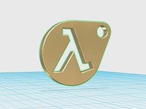 HalfLife keychain