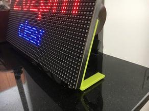 LED Matrix Stand and Raspberry Pi Mount
