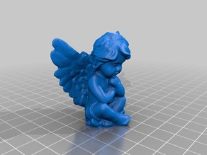 Dreaming Angel - 3D Scan