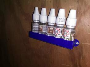e cig vape juice bottle wall holder
