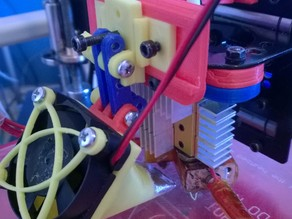 Layer Cooling Fan Bracket for Geeetech Prusa I3