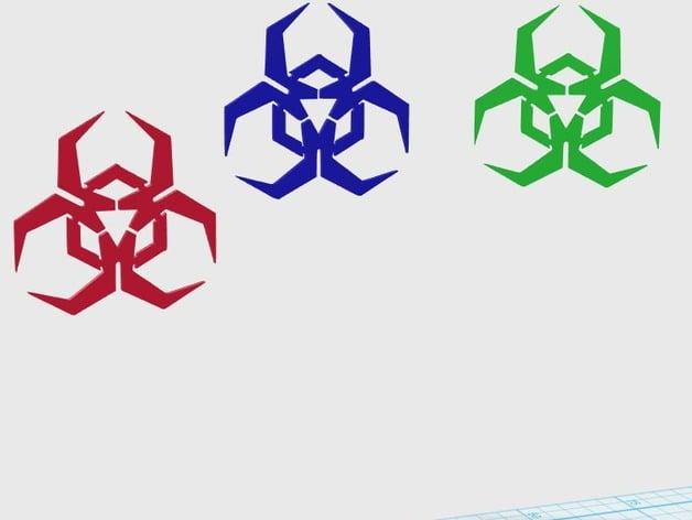 malware logo by alajaz thingiverse