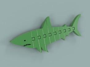 Flexi-Articulated Shark No2