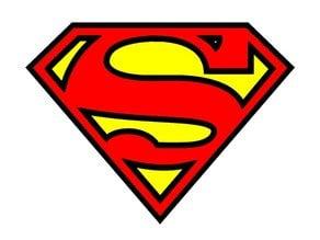 Superman Man Fridge Magnet