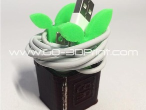 Planter Charging Cable Holder Organizer? for Apple iPhone / iPad / iPod