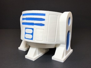 R2D2 Google Home Mini (Multi-Extruder Remix)