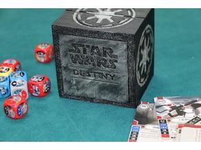 Star Wars Destiny Card Box & Chit Holder