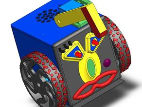 miniFloppyBot Extra Parts for Wheeled Systems
