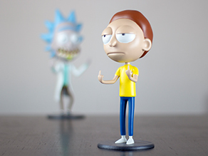 "Morty Bobble Head de ""Rick and Morty"""