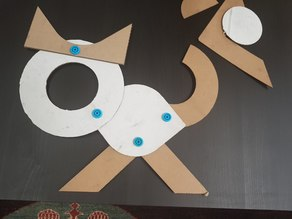 MAKEDO GEOMETRIC SHAPES for CARDBOARD