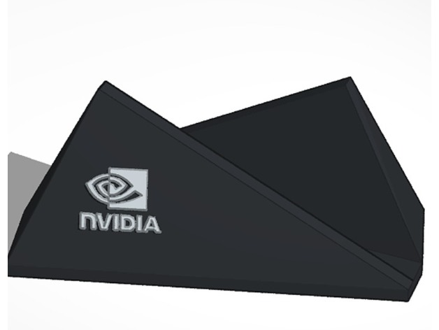 Nvidia Shield TV Stand 2015 or Pro by PepInYaStep - Thingiverse