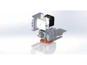 E3d V6 5015 Blower 30mm fan E3d Titan Prusa i3 mount