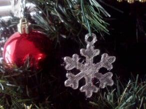 Dainty Snowflake Xmas Ornament