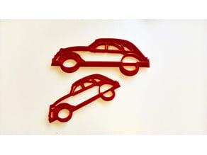 Citroën 2cv cookie cutter