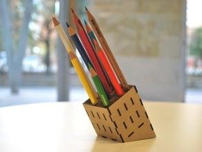 mdf pencilStand (f.Labo)