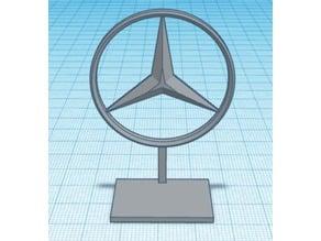 Mercedes Logo Stand