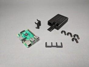 Pegboard Raspberry Pi Case