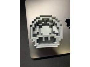 Mario Mushroom Sandwich Cutter : 8-bit sandwich cutter project