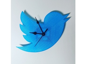 Reloj Twitter DIY Upcycle