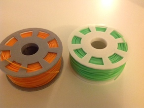 Printable Filament Spool